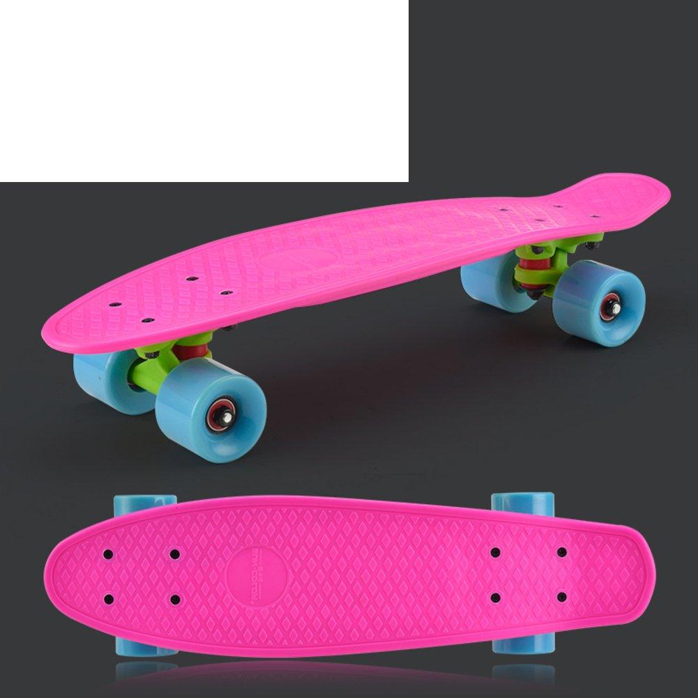 GHSQIAUVVERP Pescado/Niños Skate/La moto de cuatro ruedas./Adultos de cuatro ruedas en lugar de andar de skate/Banana plato único-E: Amazon.es: Deportes y ...