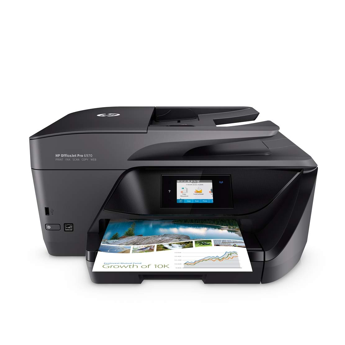 full spare HP XL ink Set HP OfficeJet Pro 6970 All-in-One Colour Inkjet Printer Instant Ink Compatible with 3 Months Trial