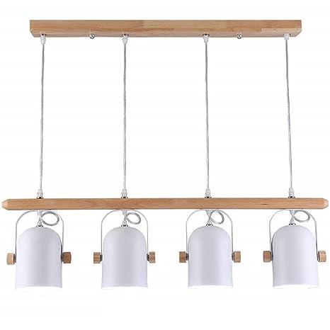 Lámpara colgante LED Oficina 36230 lámpara regulable Oficina Pendelleuchte Altura Regulable de PVC – Lámpara de techo para salón comedor, Modell 010
