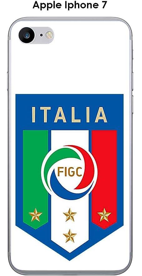 Onozo Cover Apple Iphone 7 Design Calcio Italia Sfondo Bianco