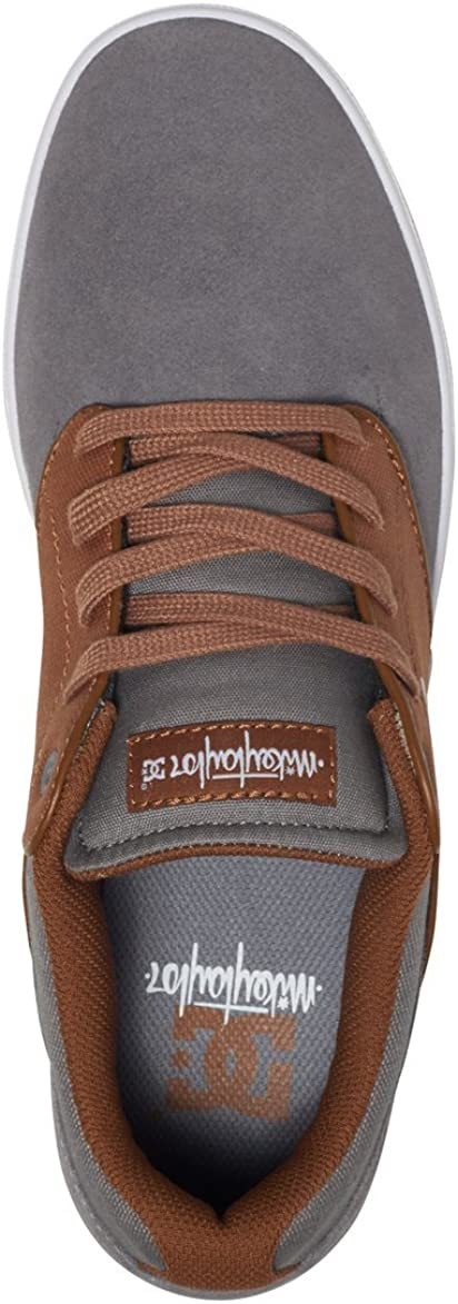 DC Mikey Taylor Low Top Chaussures pour hommes Charcoal White