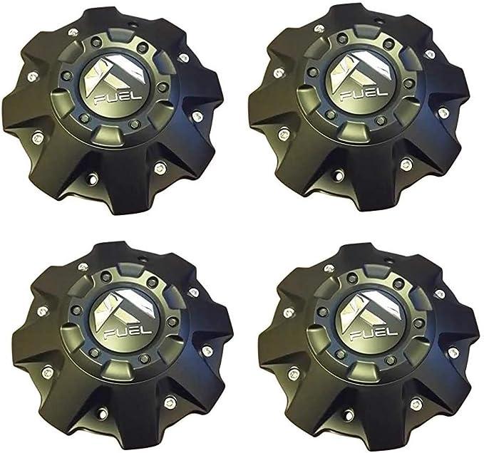 FUEL Wheels CHROME Wheel Rim Hub Cover Center Cap M-447 1001-63B M542