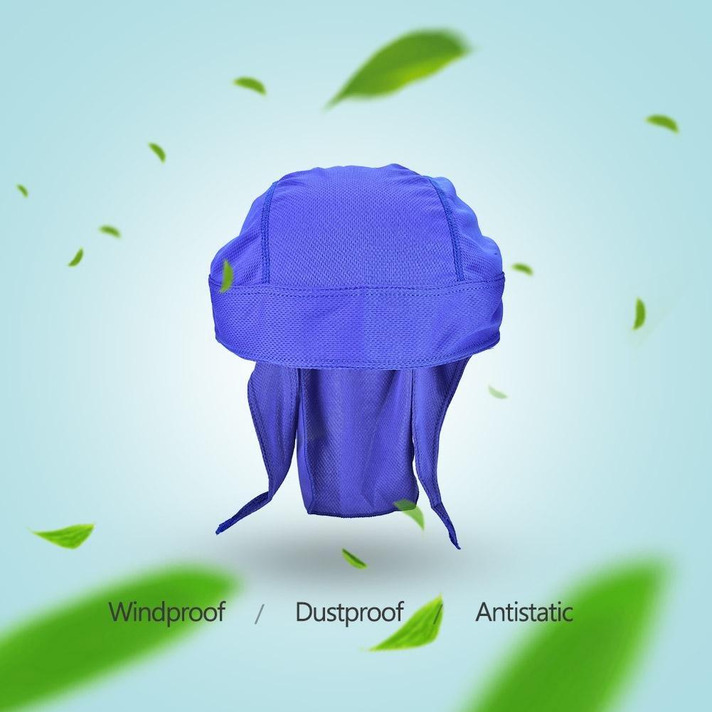 Alomejor Bike Headscarf Sunhat Windproof Sweat Absorbe La Diadema De Secado R/ápido 6 Colores