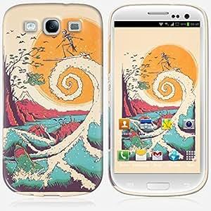 Galaxy S3 case - Skinkin - Original Design : Surf bones by Victor's Beard