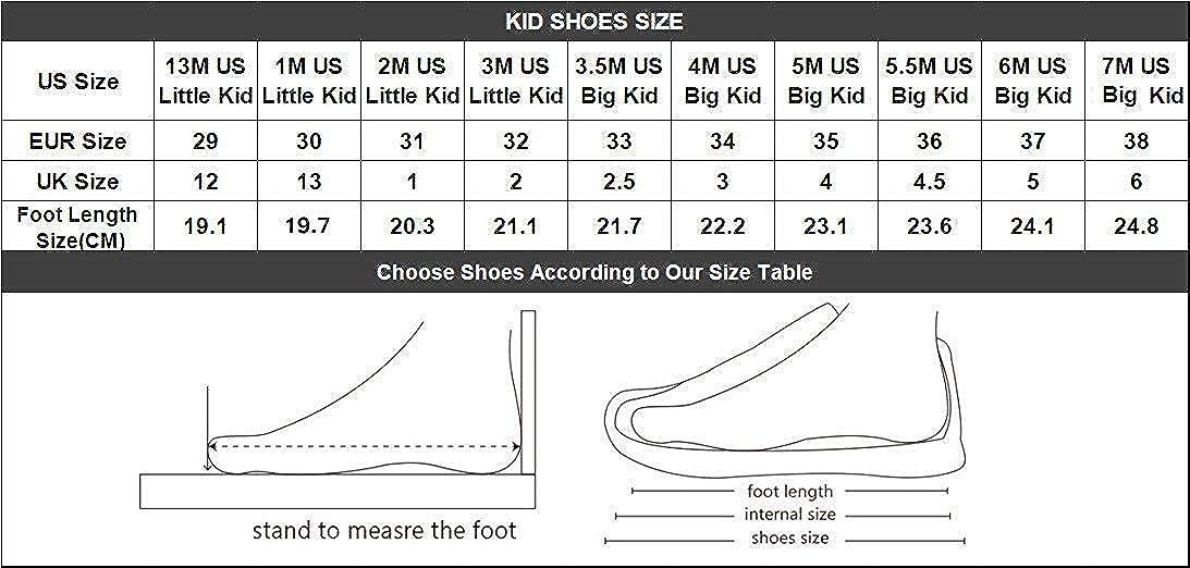kids shoes size cm