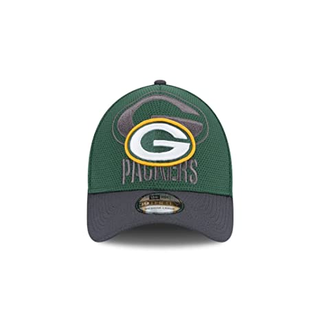 ac605ec101a Image Unavailable. Image not available for. Color  Green Bay Packers New  Era 39THIRTY Shadow Tech Flex Fit Hat