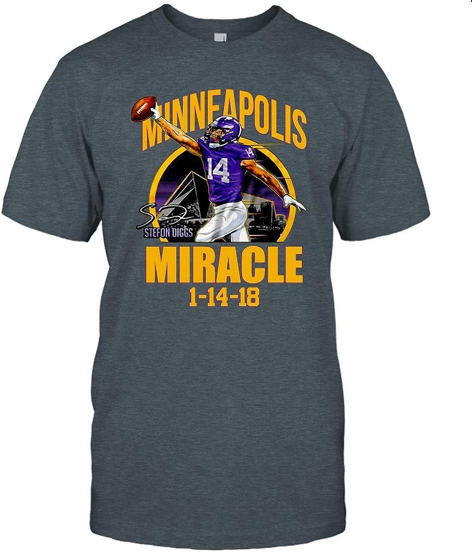 Minneapolis Miracle American Football Classic T Shirt Funny Viking, Football Skol to Minnesota Football T-Shirt,