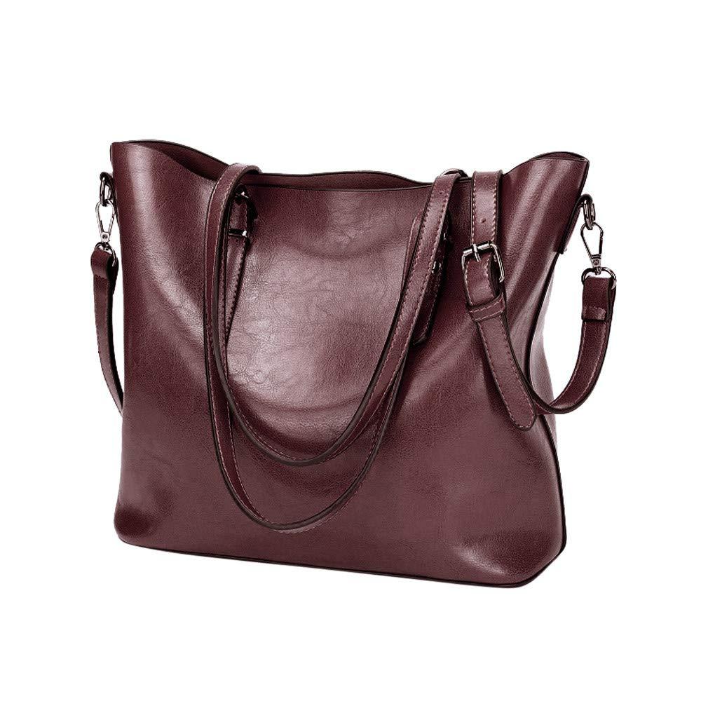 3bfc304df61f Amazon.com: Womens Retro Crossbody Bag, Fashion Pure Color Big ...