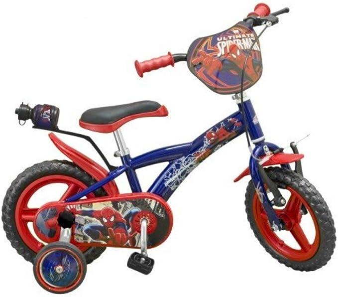 TOIM SA - Bicicleta Infantil de Spiderman, Medida 12