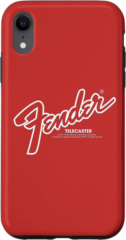 iPhone XR Fender Logo Outline Case