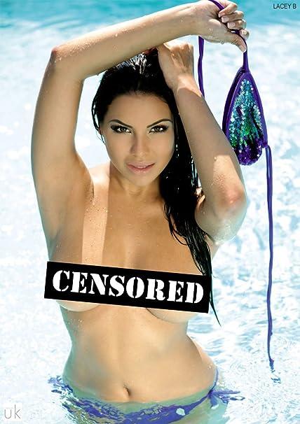 Bikini came opps untied