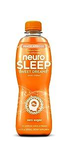 Neuro SLEEP Peach Apricot, 14.5 Fl Oz (Pack of 12)