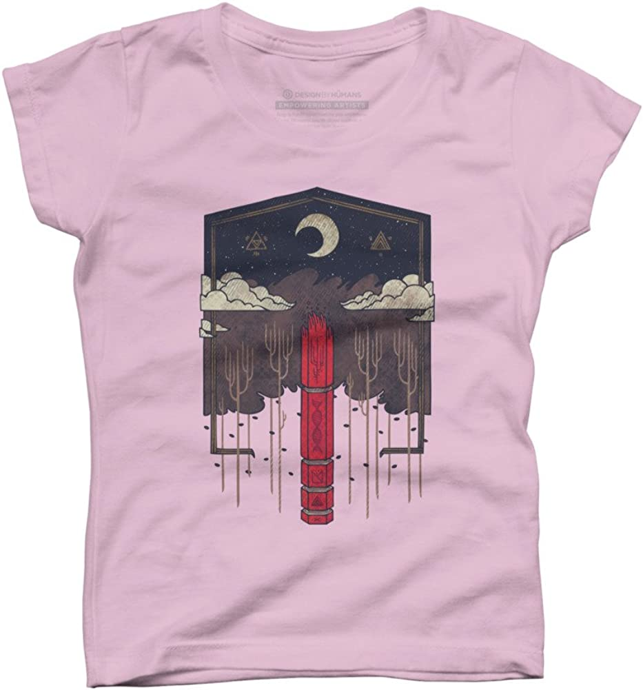 Design By Humans The Lost Obelisk Girls Youth Graphic T Shirt