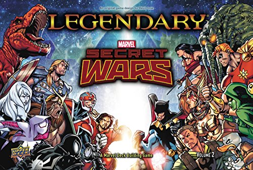 Legendary A Marvel Secret Wars Volume 2 Deck BuildingCard Game ()