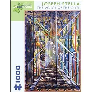 Joseph Stella The Voice Of The City 1000 Piece Puzzle Inglese Giocattolo 1 Set 2011