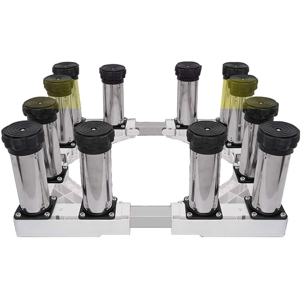 ドラム洗濯機ベースブラケットシェルフ全自動汎用ステンレス鋼パッド高さ調節ブラケット (色 : C)  C B07GWGN6V9
