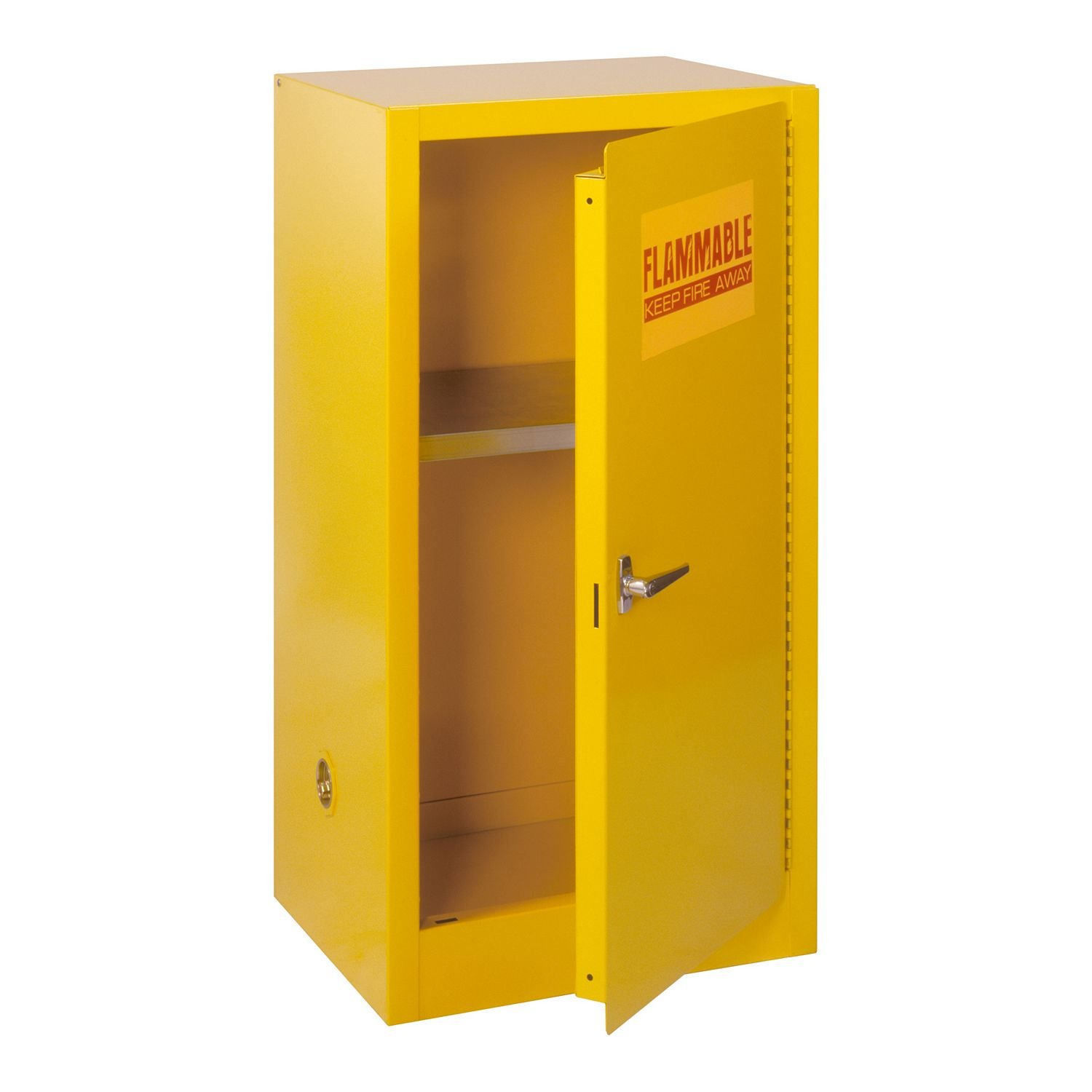 Edsal Compact Flammable Safety Steel Cabinet - 23''W x18-8''D x 35''H