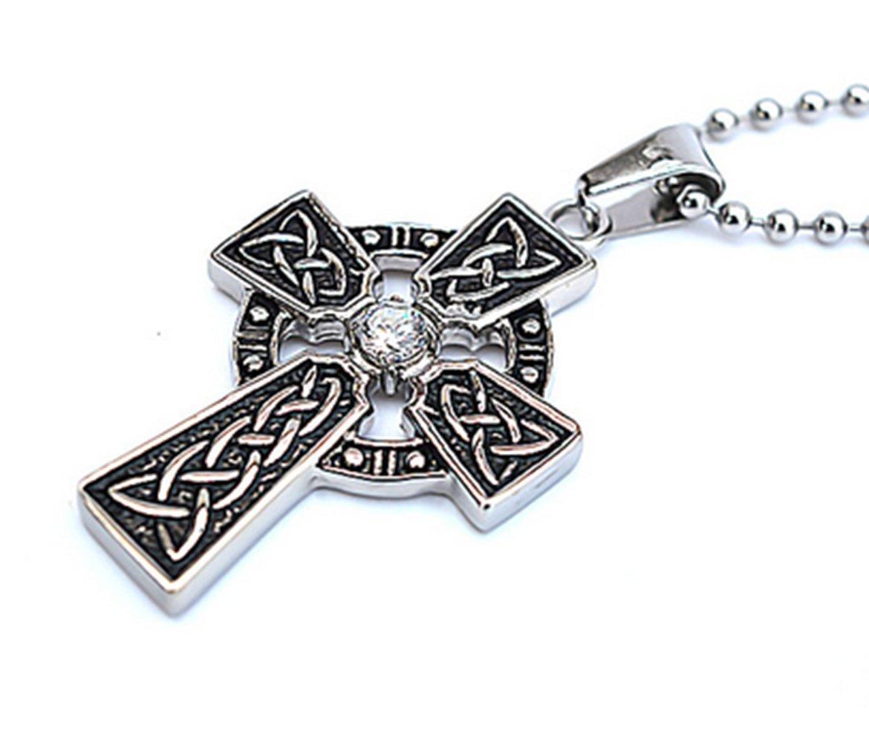 gudeke Titan Stahl Casting Irish Celtic Knoten Anhänger Rahmen ...