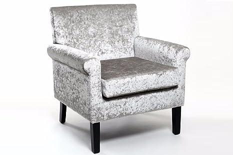furniturestop.co.uk Hamilton sillón, de Terciopelo, Color ...
