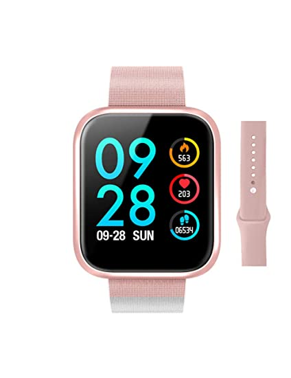 DZKQ Smart Watch Bluetooth Presión Arterial Oxígeno Monitor ...