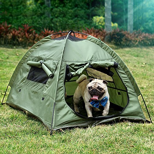 Lumsing Pet Tent, Pet house, Pet Camping Tent, Pet Supplies for Dog and Cat Portable & Waterproof