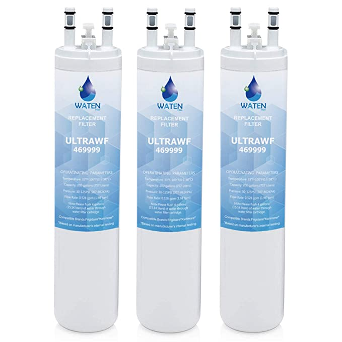 ULТRAWF Compatible Refrigerator Water Filter Replacement Pure Source Ultra//9999-3packs