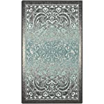 Maples Rugs Kitchen Rug - Pelham 1'8 x 2'10 Non Skid Small Accent Throw Rugs [Made in USA] for Entryway and Bedroom, Khaki