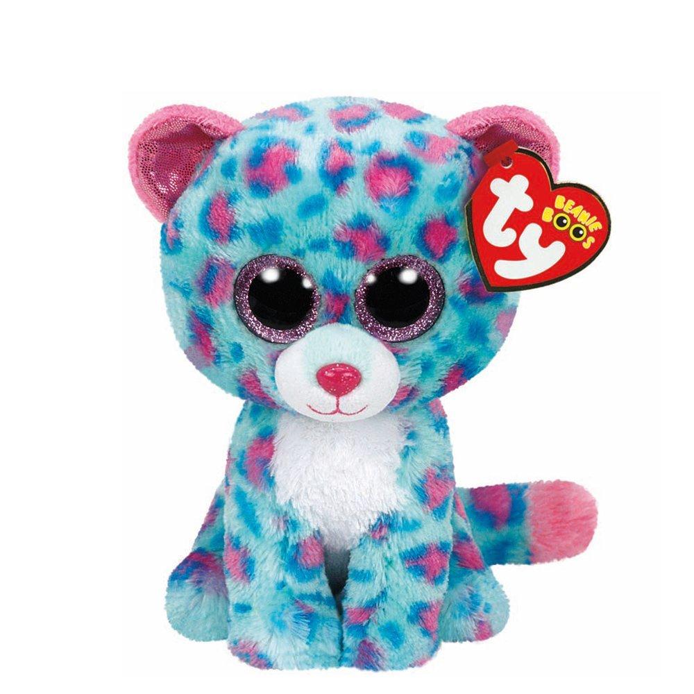8d37cbd8f95 Amazon.com  Claire s Accessories Ty Beanie Boos Plush Sydney the Teal  Leopard - 6