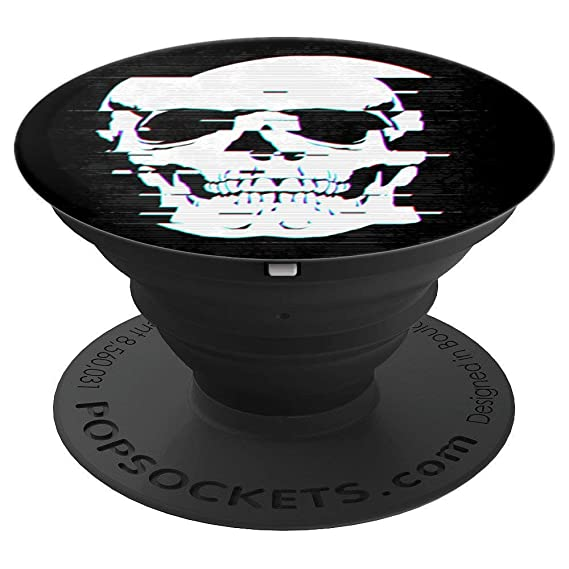Amazon com: Twitch Skull Popsocket - PopSockets Grip and Stand for