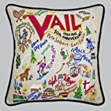 Catstudio Ski Vail Pillow - Original Geography Collection Home Décor 088(CS)