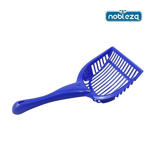Nobleza 020621 - Pala para Limpiar la Arena de Gato, Color Azul. Medidas: 28cm x 14 cm x 3 cm.: Amazon.es: Zapatos y complementos