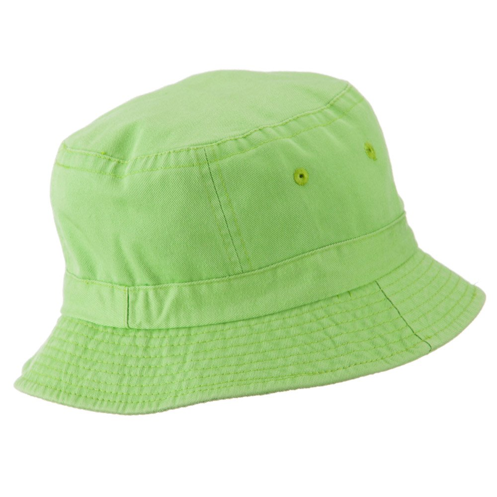 942bc466c9a990 Amazon.com: Cameo Youth Pigment Dyed Bucket Hat-Apple Green OSFM: Clothing