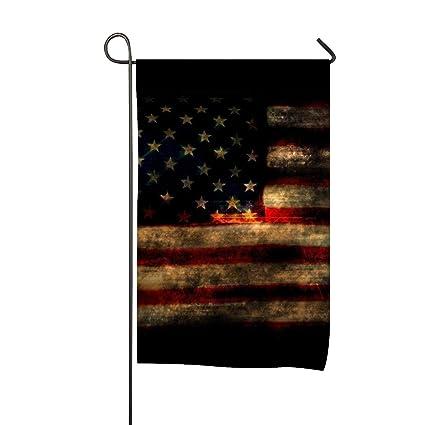 Amazon Com Elvira Jasper Welcome Home Garden Flag Usa Flag