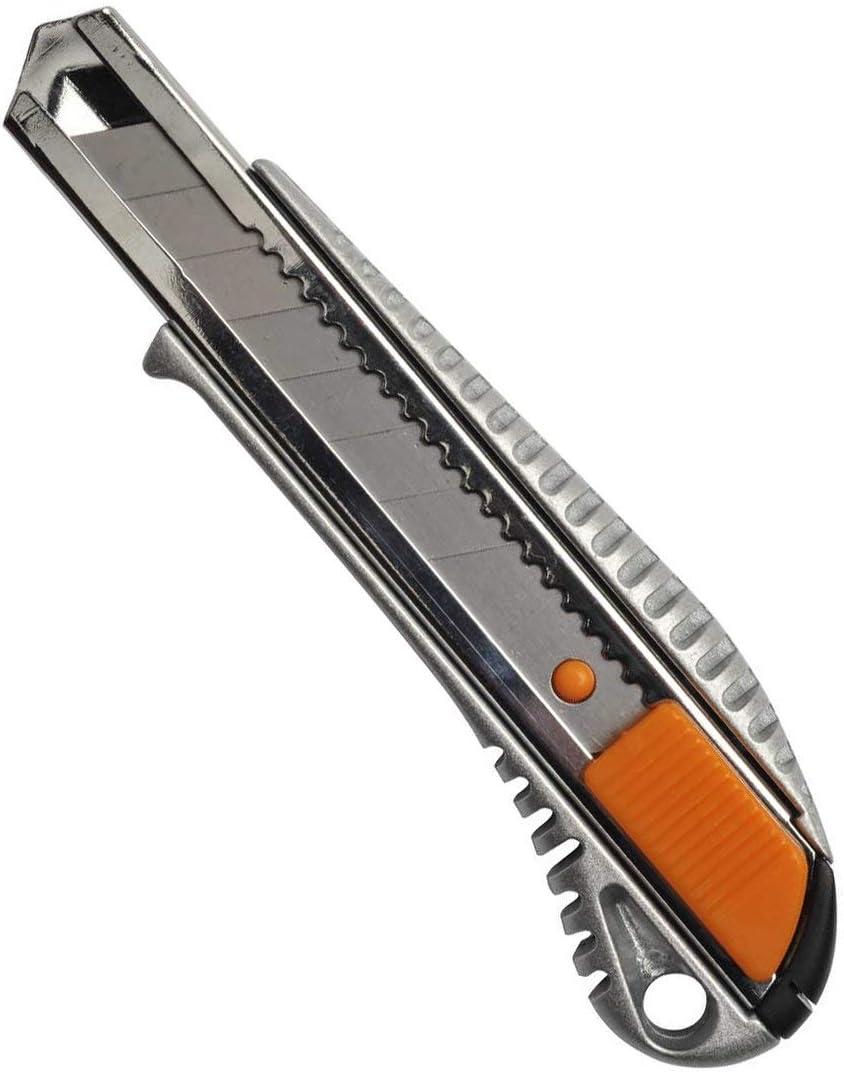 CUTTER hoja 9 mm 13 CM semi profesional guia de metal *Envío GRATIS desde España
