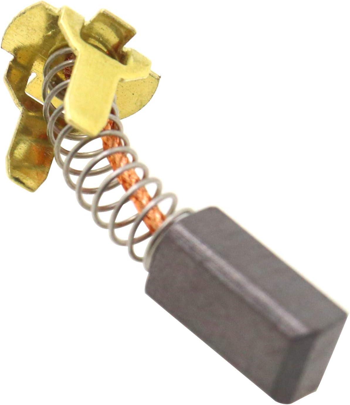 2 piezas//4 piezas Rectificadora de cepillos de carbono ENET 999-054 compatible con Hitachi G18DL G18DMR G18DSL G14DL G14DMR G14DSL