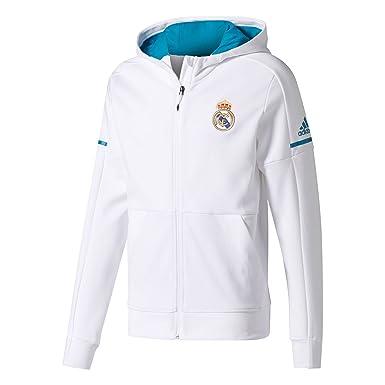 adidas Anth Sqd H Chaqueta Línea Real Madrid, Hombre: Amazon ...