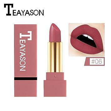 Nouveau Hydratant Rouge à Lèvres Mat Brillant à Lèvres Maquillage Durable Leedy