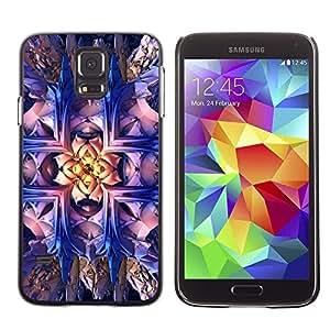 Be Good Phone Accessory // Dura Cáscara cubierta Protectora Caso Carcasa Funda de Protección para Samsung Galaxy S5 SM-G900 // Wallpaper Magical Art Bling Drawing Bright