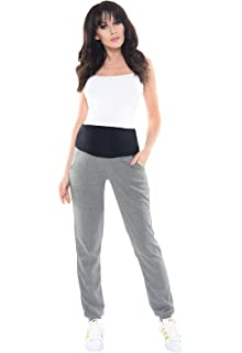 a73dc2638ebfb Purpless Maternity Pregnancy Trousers Under and Over Bump Joggers for  Pregnant Women 1321