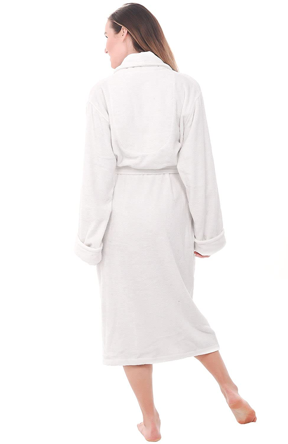 Alexander Del Rossa Womens Turkish Terry Cloth Robe 8692fc4a7