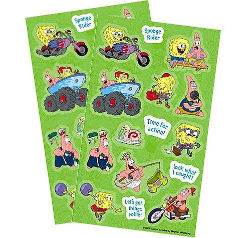 SpongeBob Stickers 2 Sheets ()