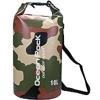 2L/5L/10L/15L/20L/30L 500d Telone heavey-duty PVC Borse Impermeabili Dry Bag Sacco per Canottaggio/Vela/Kayak/Rafting/Nuoto/campeggio/pesca/Snowboard