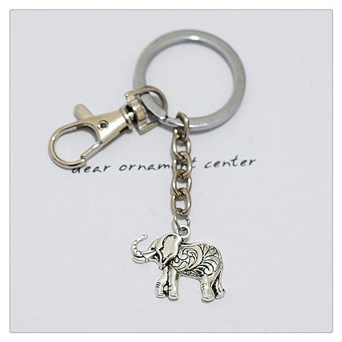 Llavero, diseño de elefante, la naturaleza Llavero, fiesta ...