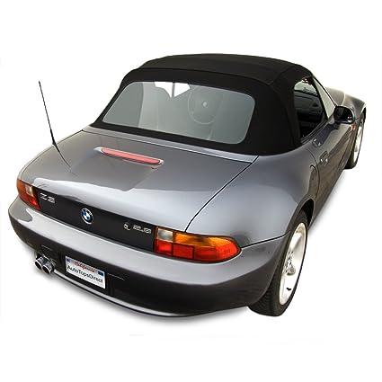 amazoncom bmw z3 convertible top. BMW Z3 Convertible Top In OEM Original Twillfast II Cloth With Integrated Plastic Window Black Amazoncom Bmw M