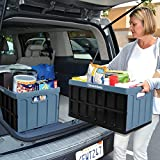 CleverMade 46L Collapsible Storage Bins with Lids