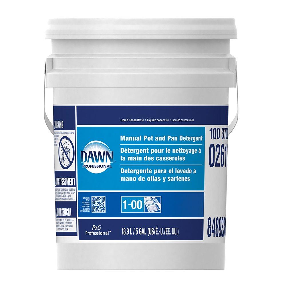 Dawn Professional Pot and Pan Detergent, Lemon Scent, 5 Gallons