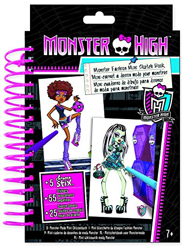 Fashion Angels Monster High Mini Sketch Book]()