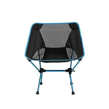 WANGLXFC Relajar Silla Camping, sillas Plegables compactas ...