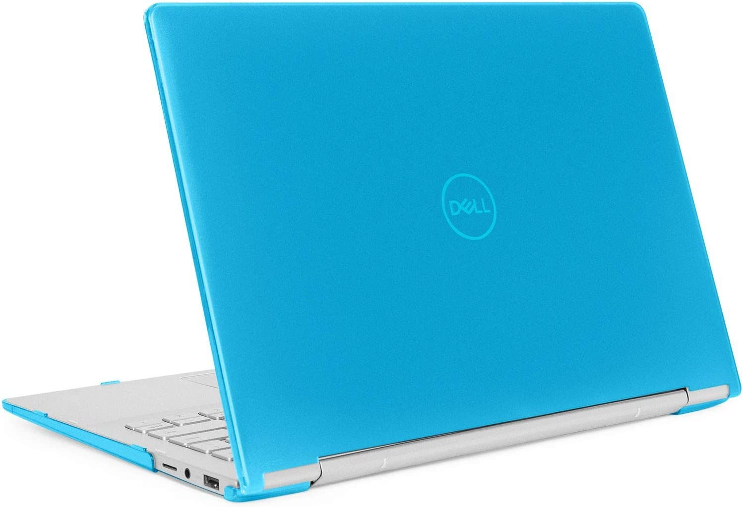 "mCover Hard Shell Case for 13.3"" Dell Inspiron 13 7391 2-in-1 Convertible Laptop Computers (Aqua)"