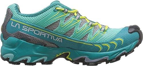 La Sportiva Ultra Raptor Woman Emerald/Mint, Zapatillas de Deporte ...